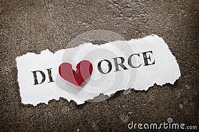 Divorce heart