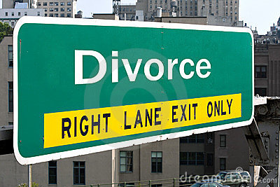 Divorce Highway Sign