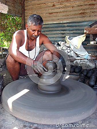Diwali Potter Editorial Photography