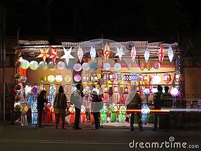 Diwali Shop Editorial Stock Photo