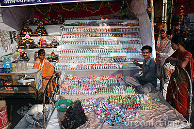 Diwali Toys Editorial Image