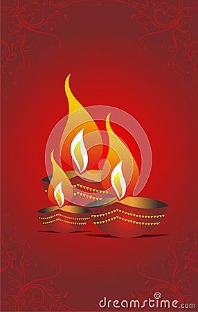 Diwalihälsning