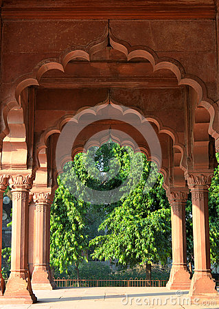 Diwan-E-Aam in Red Fort, New Delhi