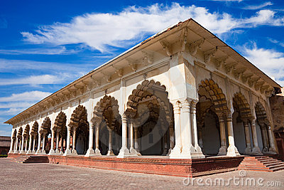 Diwan-i-Am at Agra Fort
