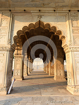 Diwan-i-Khas in Red Fort, New Delhi