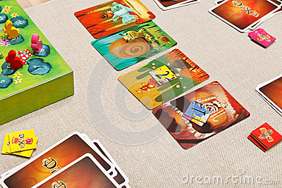 Dixit - family card game Editorial Photography
