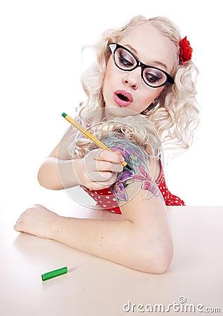DIY tattoo