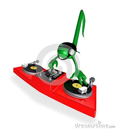 Free DJ Royalty Free Stock Photo - 564455
