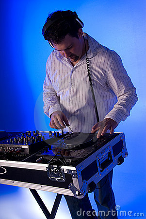 DJ on the deck.