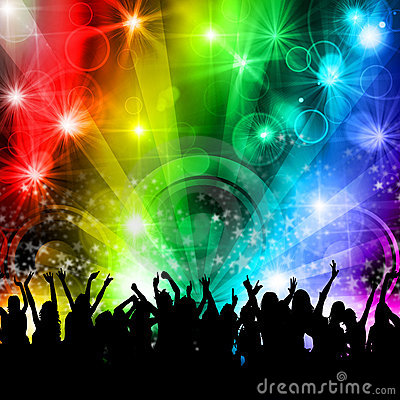 Free DJ Disco Music Party People Stock Image - 22215831
