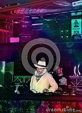 DJ Gigi Agostino Editorial Image