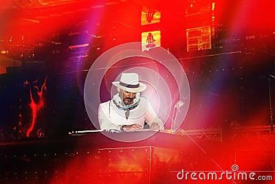 DJ Gigi Agostino Editorial Stock Image