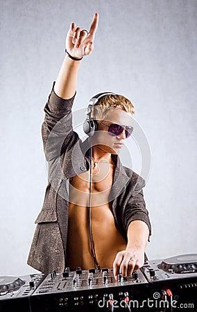 Free Dj Is Playing Electro Music Stock Photo - 8004410
