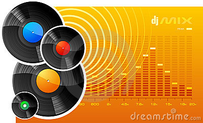 DJ Mix Stock Images - Image: 3412834