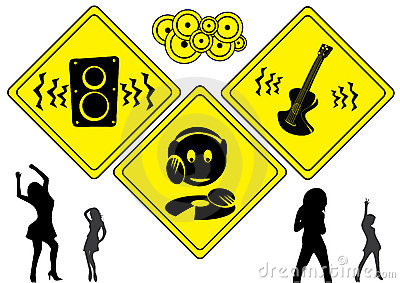 DJ music signs