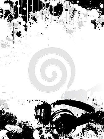 DJ poster background