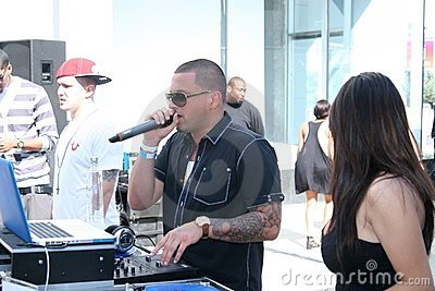 DJ Pro Style #1 Editorial Stock Photo