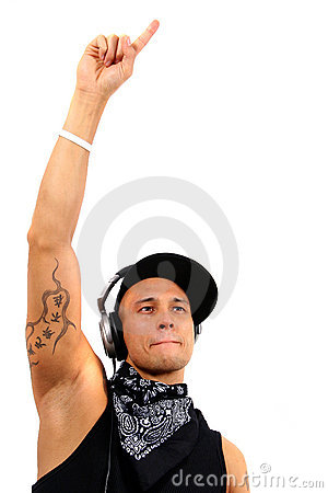 Free Dj Raising The Roof Stock Images - 4641624