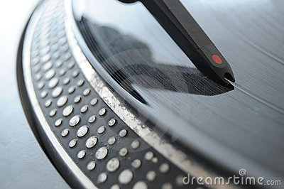 DJ Record Turntable