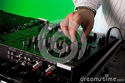 DJ s deck