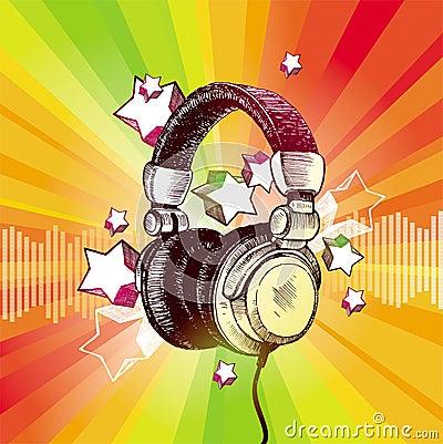 DJ s headphones