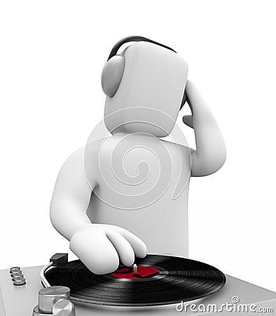 DJ scratched