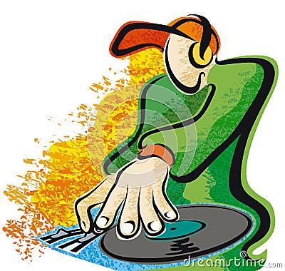 DJ texture