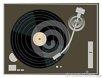 DJ Turntable Graphics