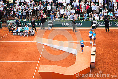 Djokovic, French Open 2014, Final Editorial Photography