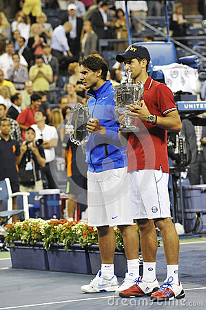Djokovic winner of USOpen 2011 (2) Editorial Photo