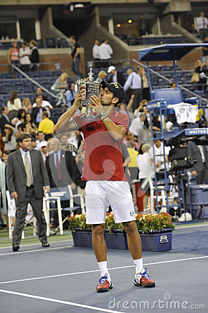 Djokovic winner of USOpen 2011 (5) Editorial Stock Photo