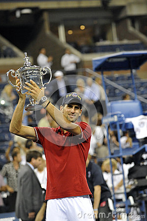 Djokovic winner of USOpen 2011 (3) Editorial Image