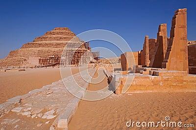 Djoser s step pyramid