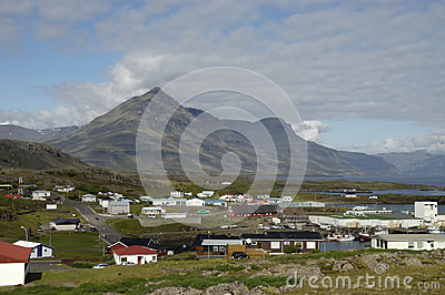 Djupivogur town, Iceland.