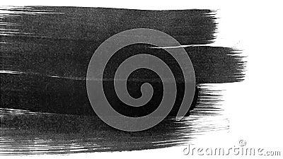 Djur grunge - penseldrag Abstrakt hand - målat element Vinstenergi stock illustrationer