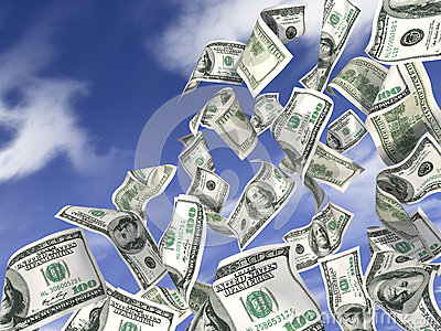Dólares da chuva
