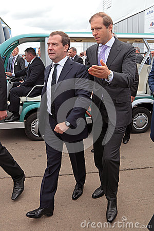 Dmitry Medvedev Editorial Photo