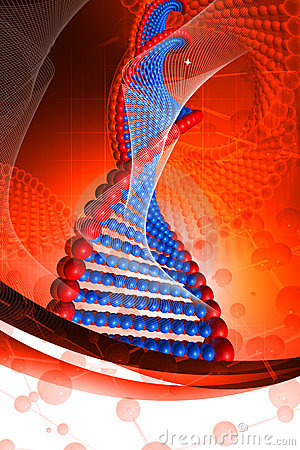 Free Dna Royalty Free Stock Image - 15353846