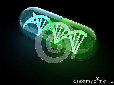 DNA capsule