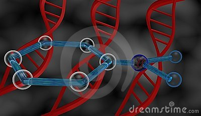 DNA and molecule