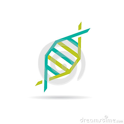 Concept of medical research, dna test, genealogy business.