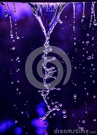 Free DNA Of Water Royalty Free Stock Photos - 113589118