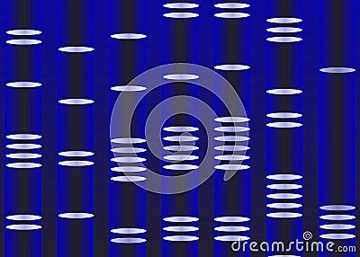 DNA portrait illustration