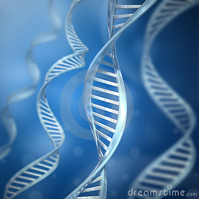 Free DNA Strands Royalty Free Stock Photo - 11811485