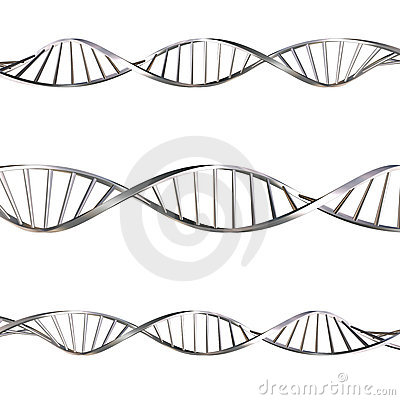 Free DNA Strands Royalty Free Stock Photography - 963697
