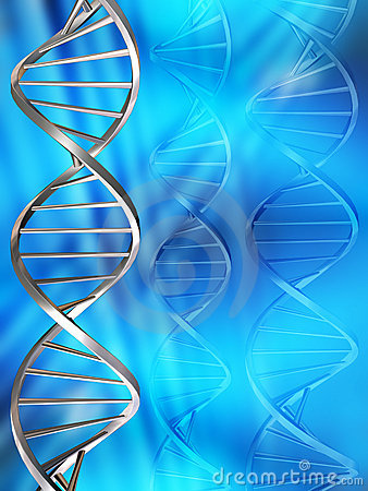Free DNA Strands Royalty Free Stock Images - 963699