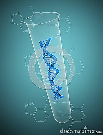 DNA string test