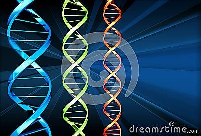 DNA x 3