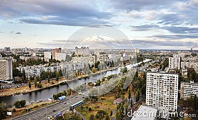 Dnieper embankment