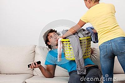 Do The Laundry Stock Photo - Image: 40160414